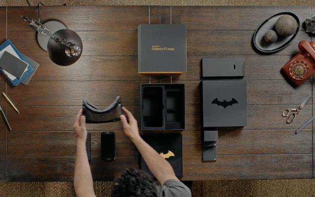 Samsung divulga versão do Galaxy S7 Edge Dedicada ao Batman