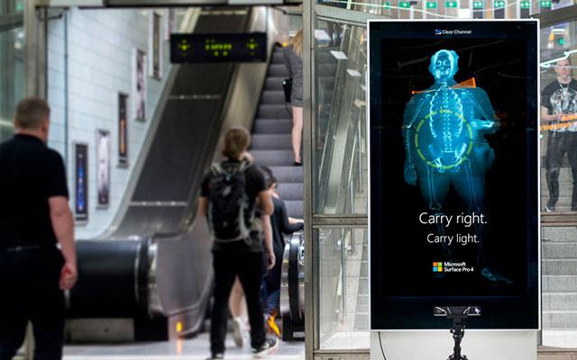 Microsoft faz Scans de Postura para promover Surface Pro 4