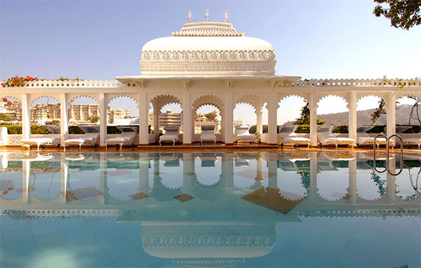 Taj Lake Palace – Udaipur, Índia