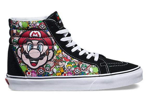 b0d5b6fb13e Vans lança sapatilhas a pensar nos fãs da Nintendo – ELEgante