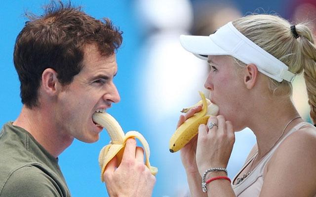 Comer banana