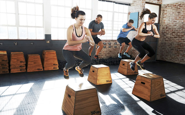 wod crossfit tabata workout gym