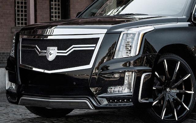 O Impressionante Cadillac Escalade 2016 Sky Captain Piano