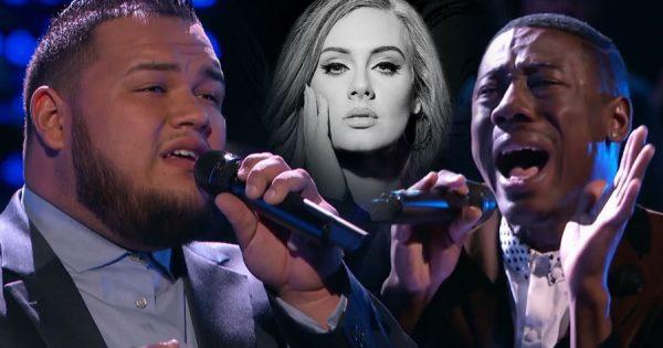 """WOW! Batalha épica no The Voice eleva """"Hello"""" de Adele a outro nível"""