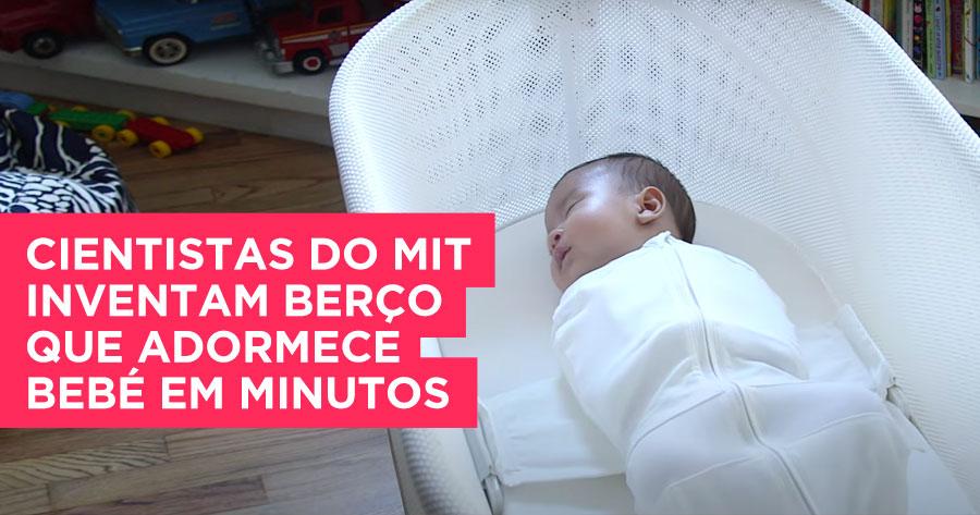 Cientistas do MIT desenvolvem berço que adormece bebé em minutos