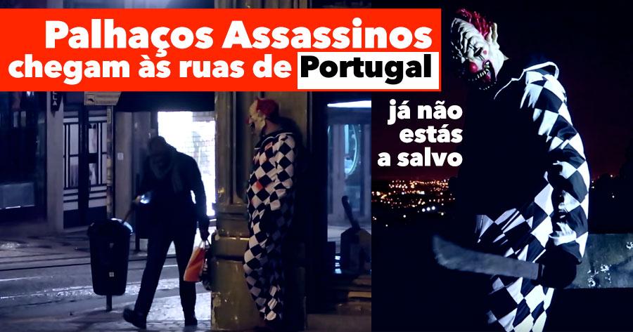PALHAÇOS ASSASSINOS chegam a Portugal