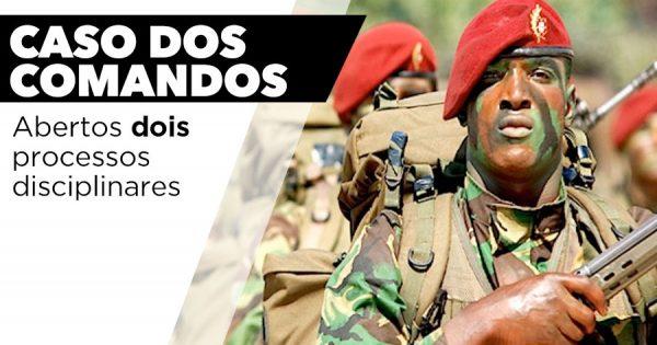 COMANDOS: 2 militares alvo de processos disciplinares