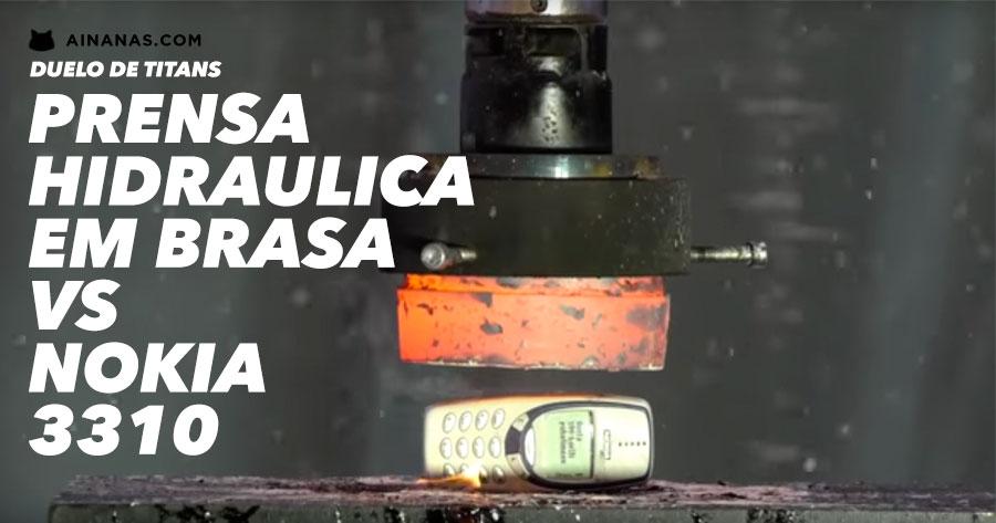 Prensa Hidraulica em BRASA vs Nokia 3310