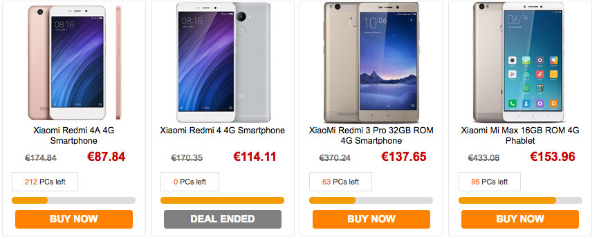 xiaomi best deals