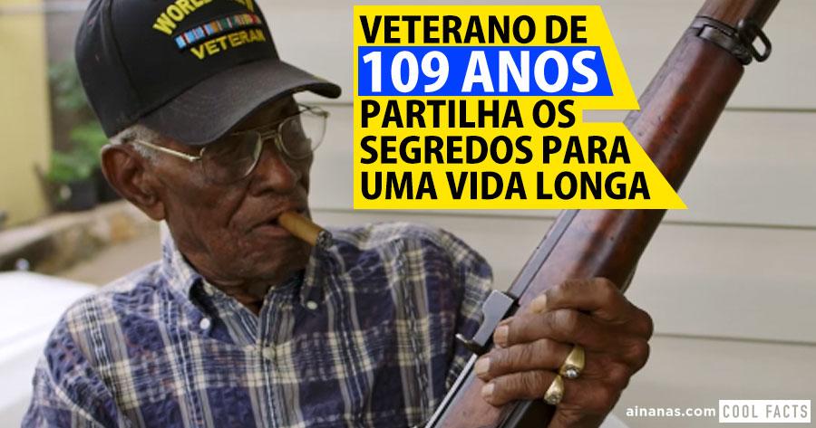 Veterano de 109 anos partilha SEGREDOS para uma Vida Longa