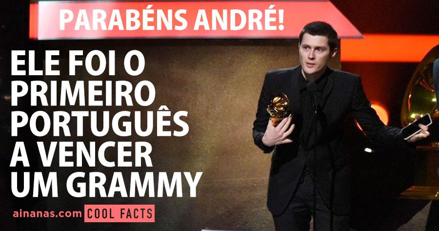 Ele foi o PRIMEIRO PORTUGUÊS a Vencer um Grammy