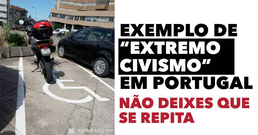 """Um exemplo de """"extremo civismo"""" em Portugal"""
