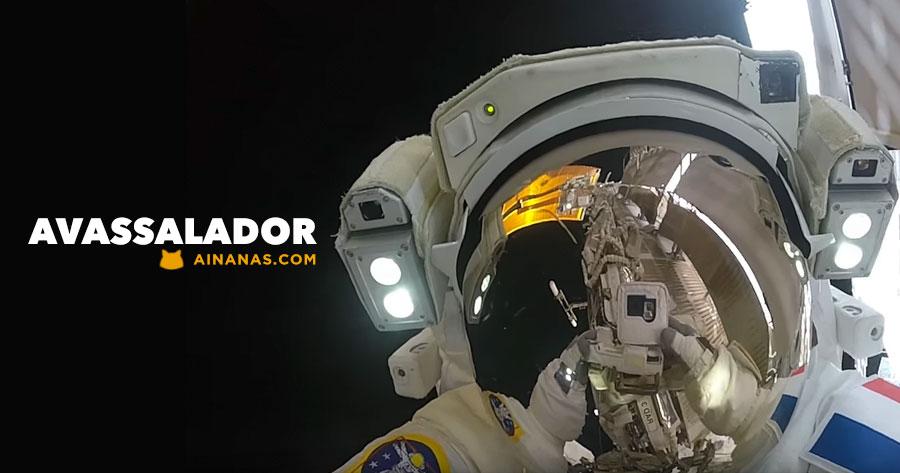 WOW: Astronautas partilham video de Caminhada Espacial com Action Cam