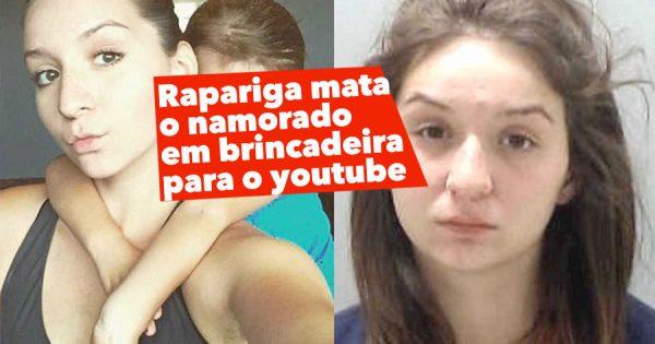 Rapariga MATA O NAMORADO em Brincadeira para o YouTube