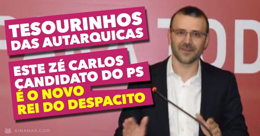Tesourinhos das Autarquicas: José Carlos de Vila Pouca de Aguiar é novo rei do Despacito!