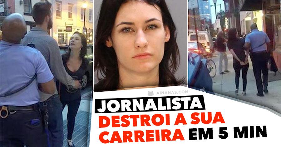 Jornalista DESTROI A SUA CARREIRA em 5 minutos