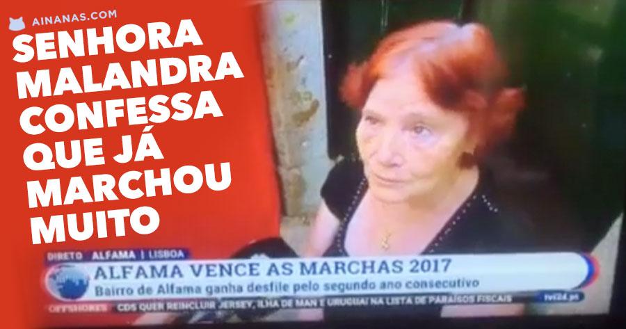 Senhora malandra confessa que JÁ MARCHOU MUITO