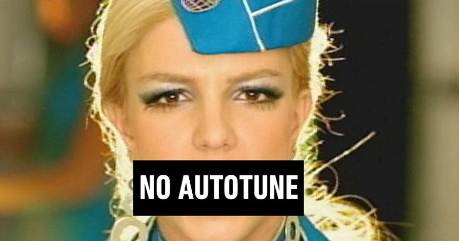 TOXIC da Britney Spears SEM AUTOTUNE