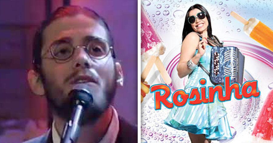 SALVADOR SOBRAL transforma-se em Rosinha para cantar