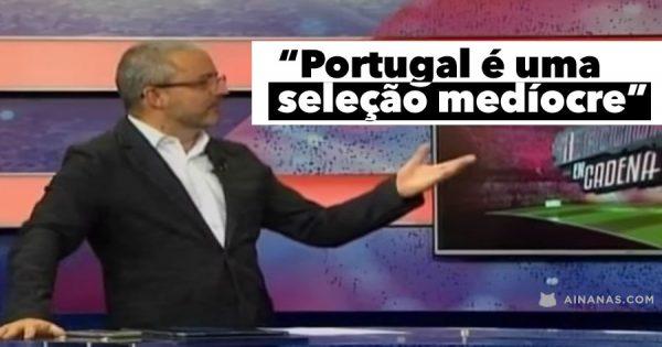 Comentadores Mexicanos Rebaixam SELEÇÃO PORTUGUESA