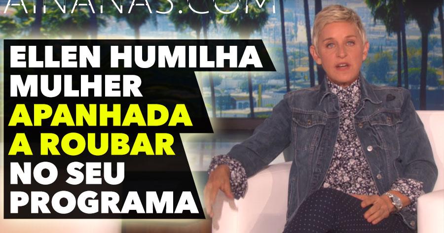 Ellen Humilha Mulher APANHADA A ROUBAR no seu Programa