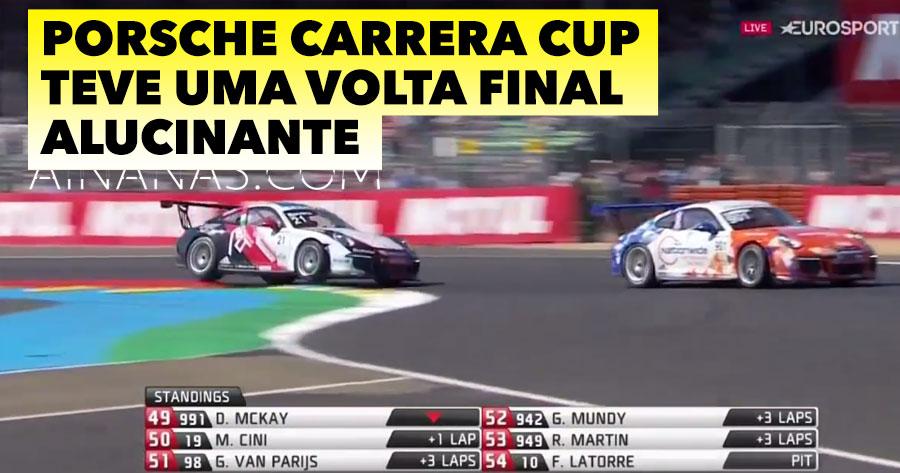Porsche Carrera Cup teve Volta Final Alucinante