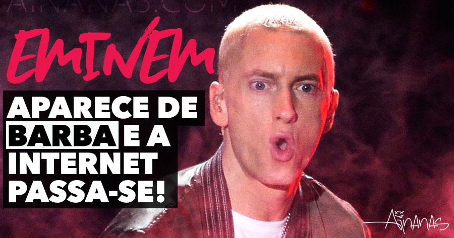 Eminem Aparece com Barba e a Internet Passa-se