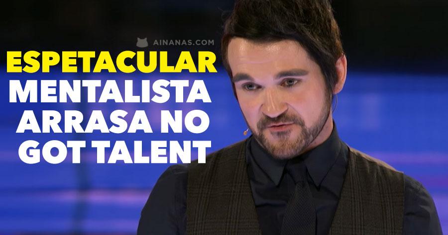 Espetacular MENTALISTA arrasa no Got Talent