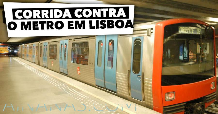 Corrida CONTRA O METRO em Lisboa