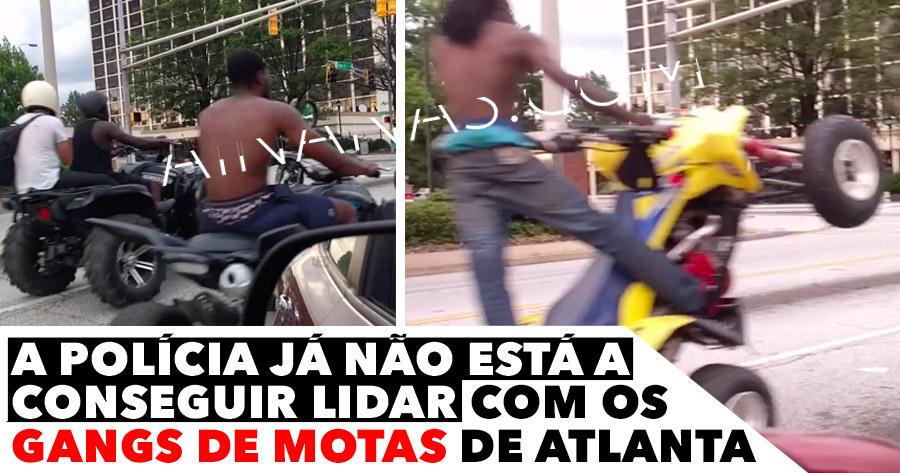 A polícia não está a conseguir lidar com GANGS nas Ruas de Atlanta