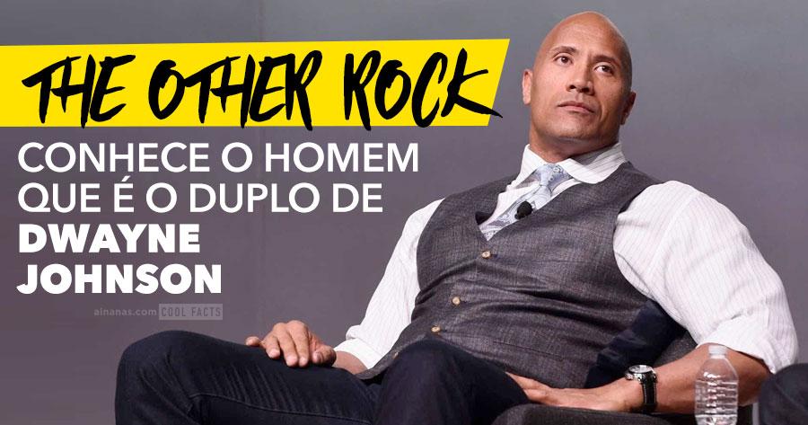Conhece o Homem que é o DUPLO de Dwayne Johnson (The Rock)