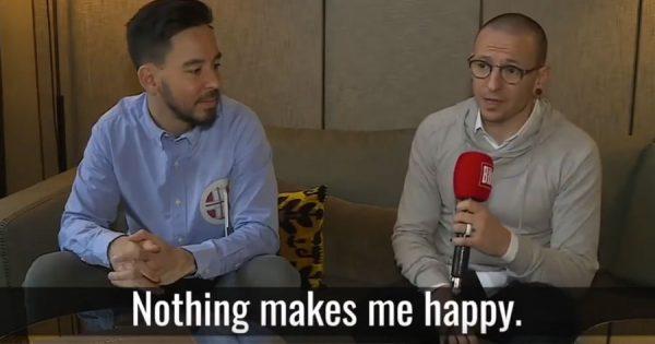 Chester Bennington falava sobre a sua DEPRESSÃO nesta entrevista