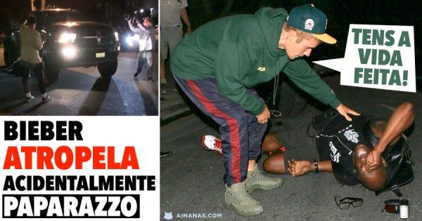 Justin Bieber Atropela Acidentalmente Paparazzo