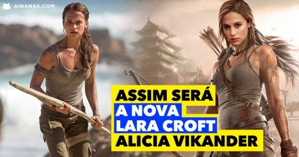 Reveladas Primeiras Imagens: Assim será A NOVA LARA CROFT Alicia Vikander