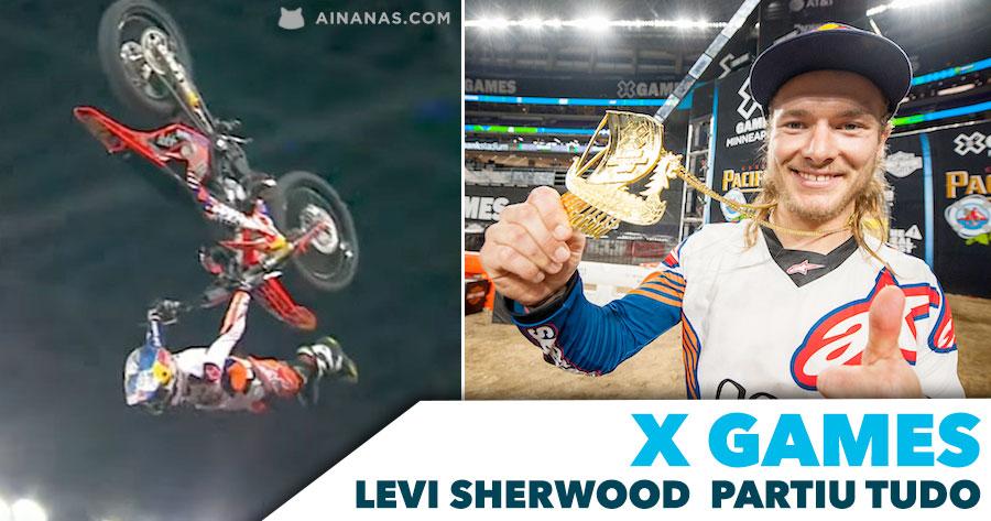 Levi Sherwood PARTIU TUDO no Freestyle dos X Games