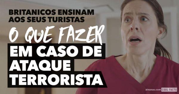 Video Ensina Turistas: O que fazer em Caso de ATAQUE TERRORISTA