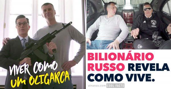 BILIONÁRIO RUSSO revela o seu estilo de vida