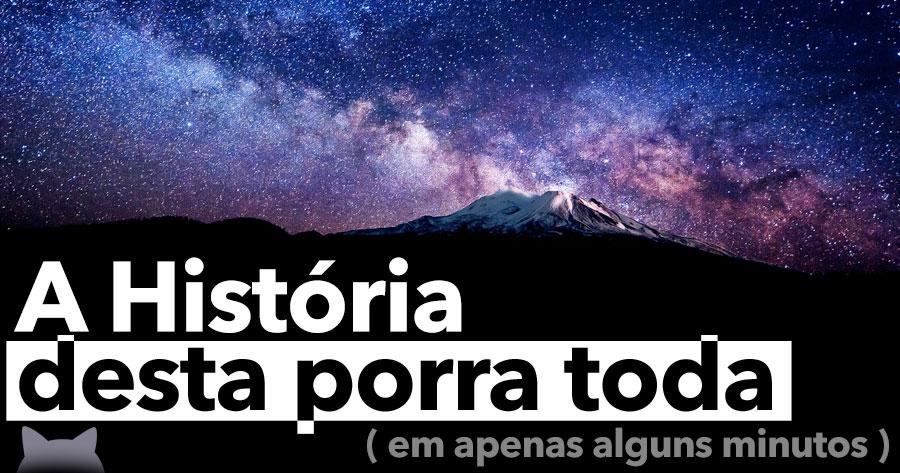 A HISTÓRIA DESTA PORRA TODA… em apenas alguns minutos!