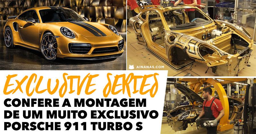 Confere a montagem de um Excepcional 911 Turbo S Exclusive Series