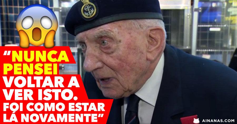 Veterano da 2ª Guerra Mundial Chora ao ver DUNKIRK
