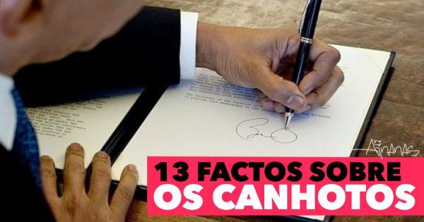 Hoje é Dia Mundial do CANHOTO ( 13 Factos )