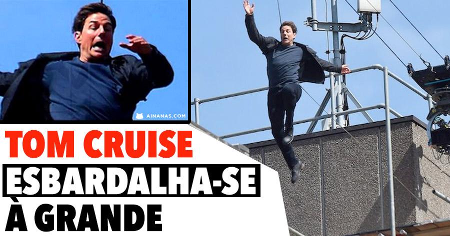 Tom Cruise ESBARDALHA-SE TODO durante Filmagens