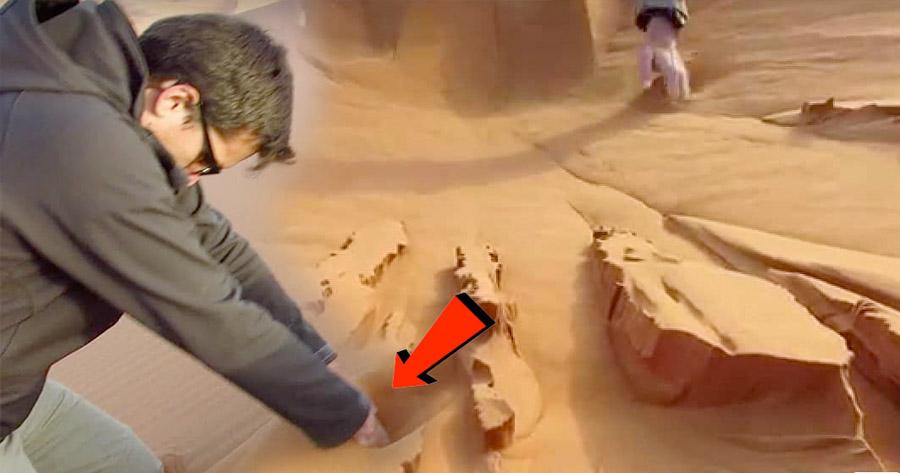 Espetacular efeito com AREIA no Deserto do Sahara