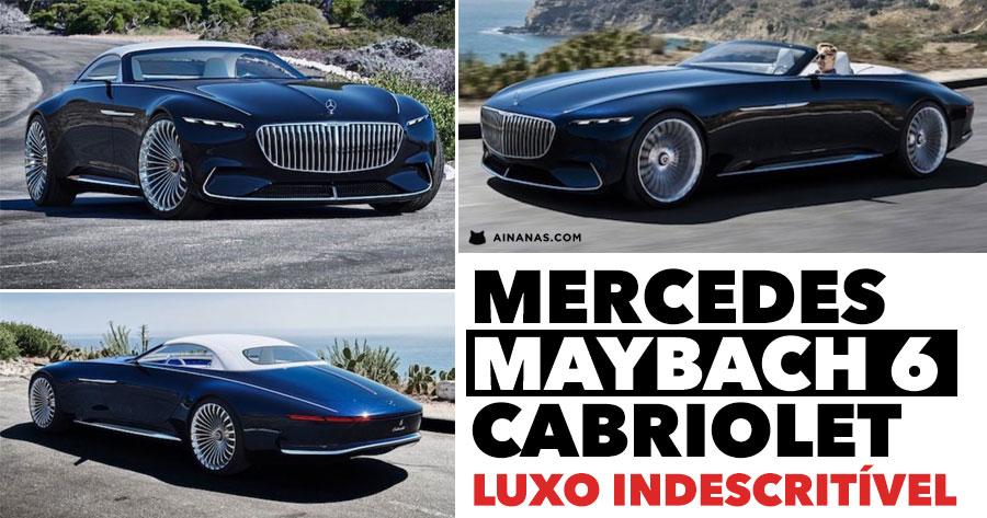 Mercedes MAYBACH 6 tem nova versão elétrica descapotável