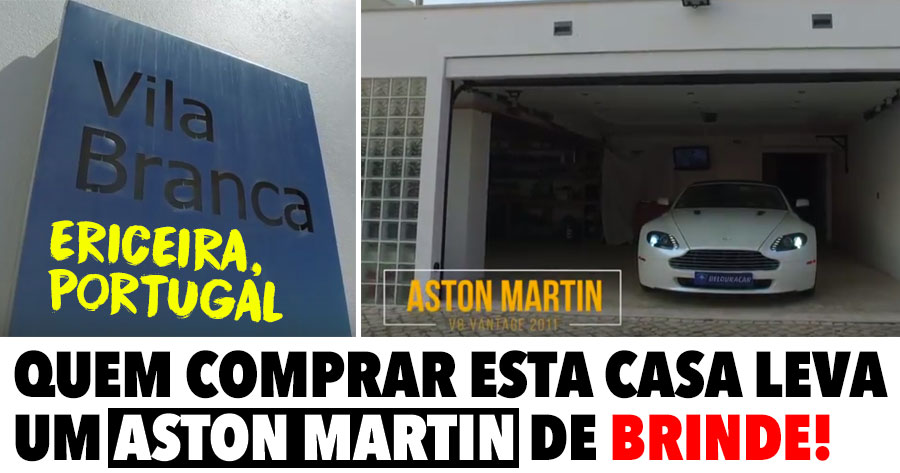 Quem comprar esta casa na Ericeira leva um Aston Martin de Oferta