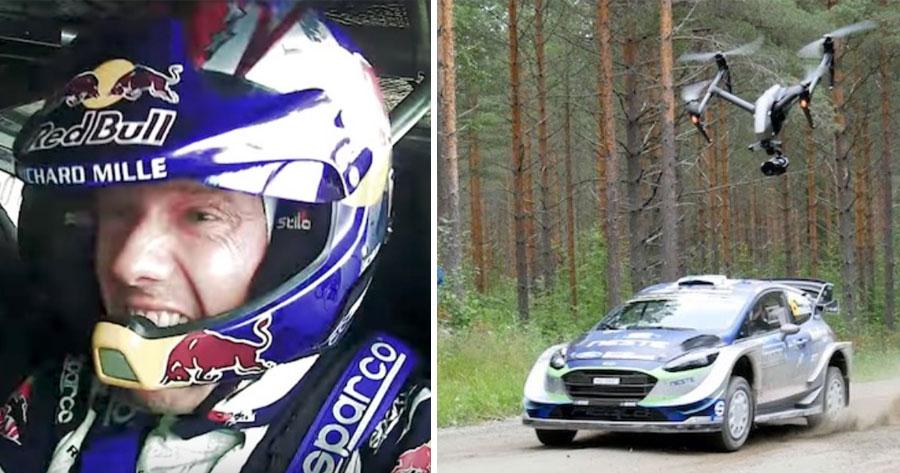 DJI revela filmagens ALUCINANTES feitas por Drones no Rally da Finlandia