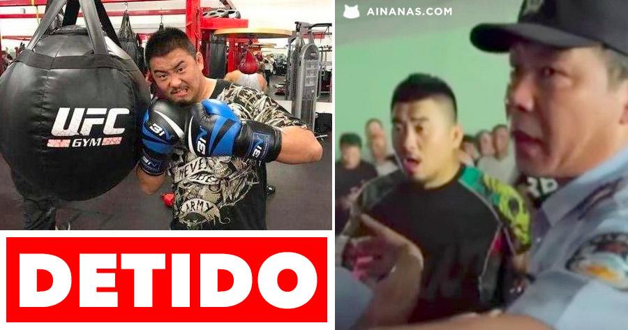 Lutador de MMA detido por não Respeitar a Cultura Chinesa