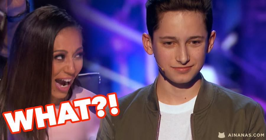 Mágico de 15 anos deixou o Juri do Got Talent de Queixo Caído!