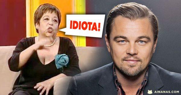 Maria Vieira chama Idiota a Leonardo DiCaprio... e não está sozinha