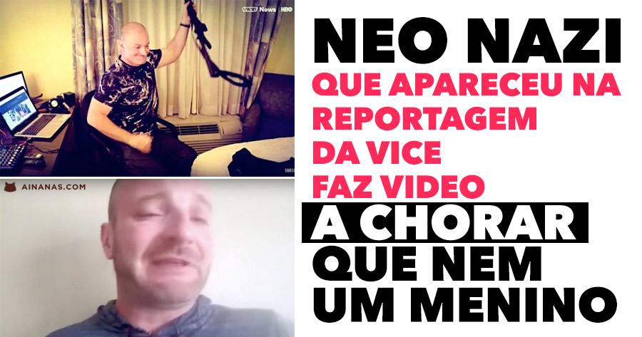 NEO NAZI faz depoimento EM LÁGRIMAS após ter Aparecido no video da Vice